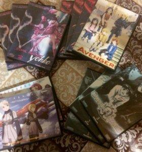 Аниме на DVD дисках