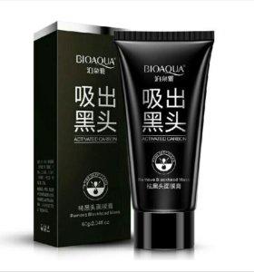 Черная маска bioaqua
