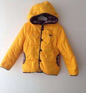 Весенняя курточка 98 размер
