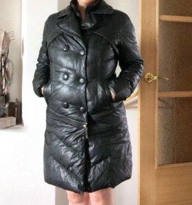 Куртка-пальто ЭКО кожа