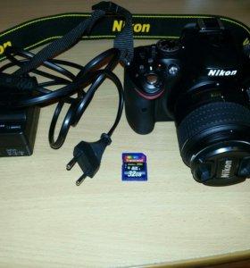 Фотоаппарат. Nikon D5200