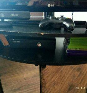 Xbox 360+kinect+2 джостика