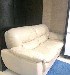 Кожаный диван Лейпциг-2