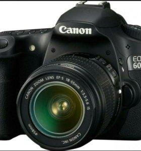 Фотоаппарат canon 60d