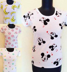 Модные новые футболочки