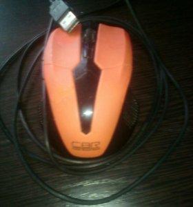 Мышка для компьютера- ноутбука штекер usb