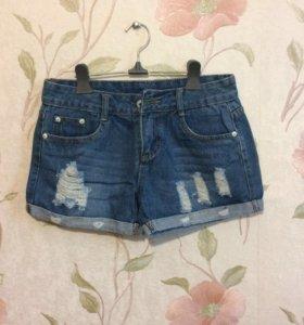 Шорты джинсовые (новые)