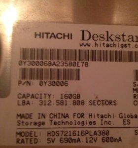 Жёсткий диск HITACHI 160гб