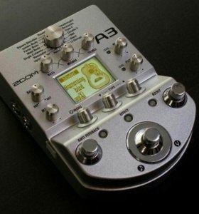 Процессор для акустической гитары Zoom A3