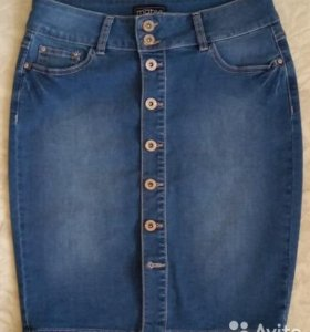 Новая джинсовая юбка Motivi