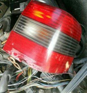 Задние фонари на passat b4 седан.