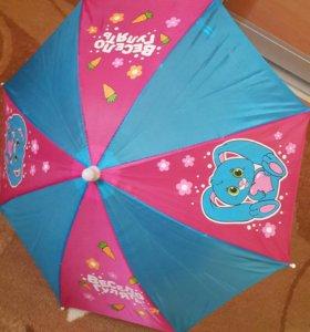 Очки от солнца, зонты детские