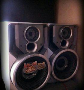 Мощная акустика Lg