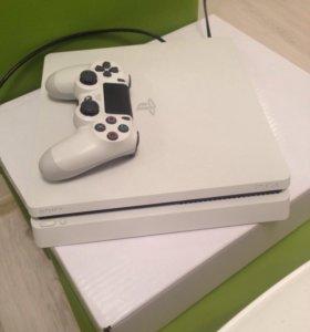 Sony PlayStation 4 Slim White 500Gb
