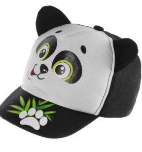 "Кепка детская ""Панда""."