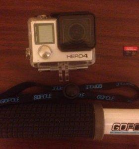 GoPro Hero 4 Black+Sandisk 32g