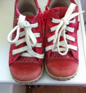 Ботинки  Ecco б/у