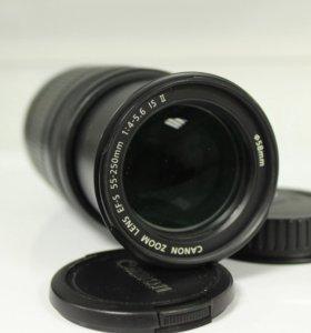 Canon EF-S 55-250mm f/4.0-5.6 IS II