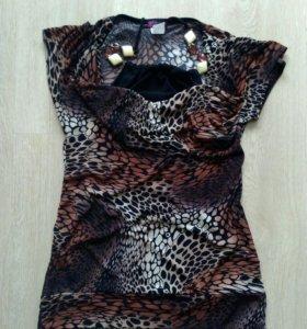 Леопардовый топ