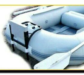 Навесной транец для ПВХ лодок