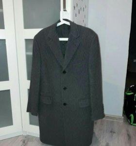 Пальто Henderson серое демисезонное