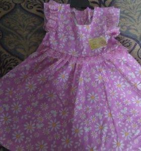 Платье новое размер 92(52)
