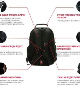 Рюкзаки Swiss Gear