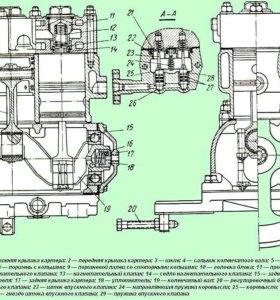Воздушный компрессор ЗИЛ-131