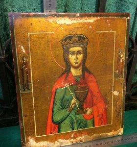 """001-791 Икона """"Святая Варюся великомученица"""""""