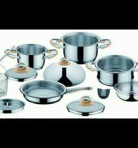 Набор посуды Inoxia
