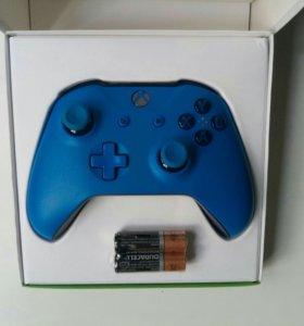 Беспроводной геймпад Xbox One Controller Blue