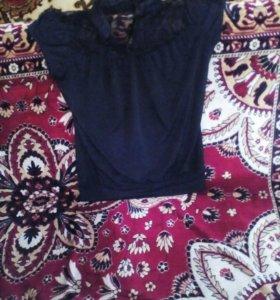 Блузка с прозрачной спиной