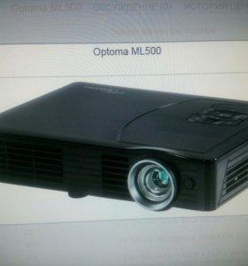 Led проектор optoma ml 500.