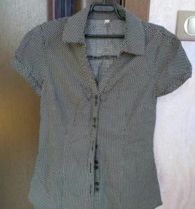 Рубашка глория джинс на 14 лет х/б