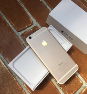 iPhone 6,16gb,Gold(золотой)