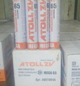 Профессиональная монтажная пена ATOLL 65