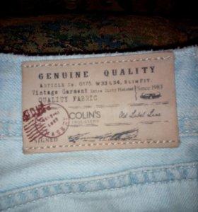Продам фирменные мужские джинсы Colin's W31L32