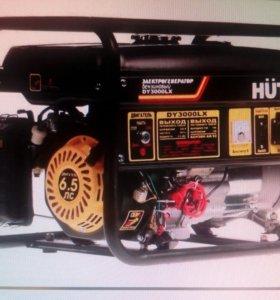 Электрогенатор huter dy3000lx