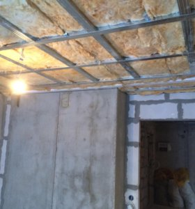 Стены, потолки , перегородки из ГКЛ