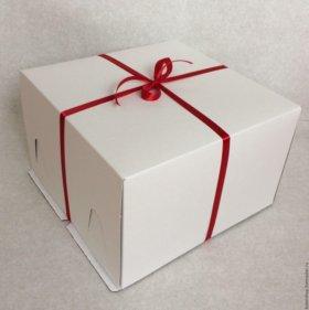 Коробка для торта, подложка для торта