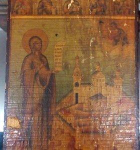 """001-162. Икона """"Богородица"""""""