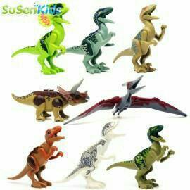 Динозавры Лего 8 фигурок.