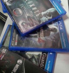 5 игр PS4