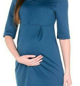 Платье трикотажное для беременных и кормящих мам