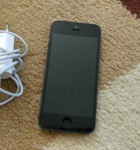 Смартфон iPhone 5, черный, 16гб