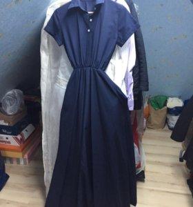 Платье Новое в пол 42-44