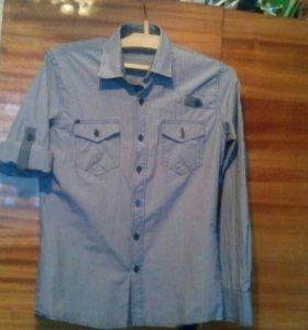 Рубашка трансформер подростковая,