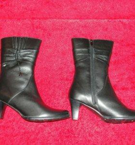 Новые ботинки зимние натуральные