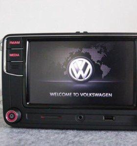 Магнитолы RCD 510 RCD 330 plus Volkswagen