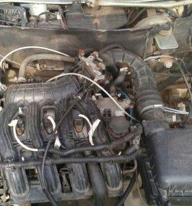 Двигатель 1,6 16клап.кпп.стартер.генератор